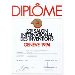 Diploma from Geneva